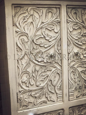 Carved Cabinet with drawer   lucky-furniture-handicrafts