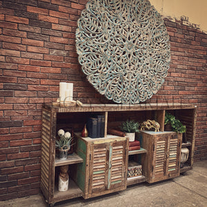 Recycle Design shutter sectional sideboard   lucky-furniture-handicrafts.