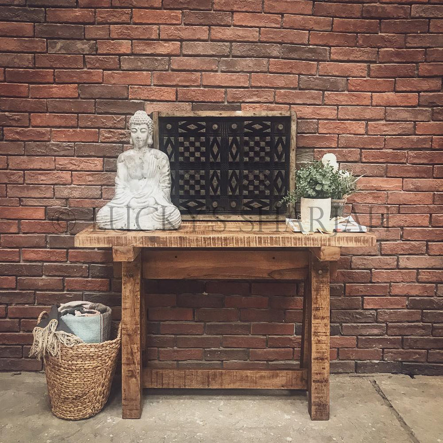 Barn Style Console Table   lucky-furniture-handicrafts