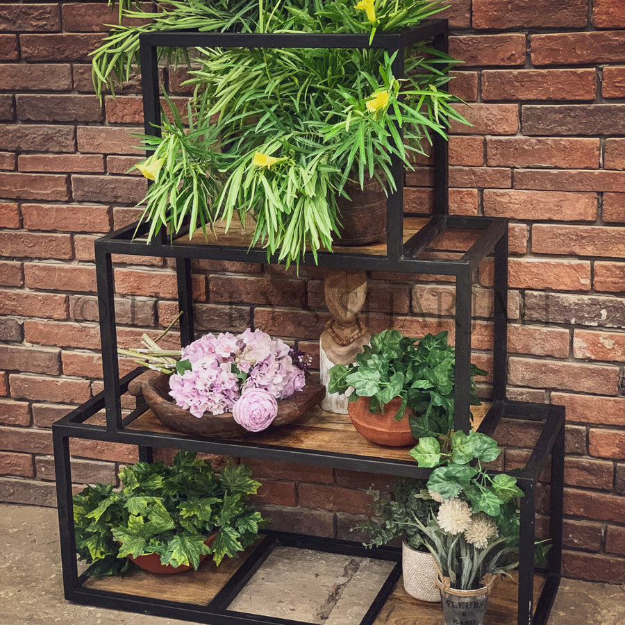 Sectional Iron Bookshelf   lucky-furniture-handicrafts