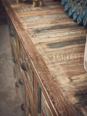 Recycle Design 7 draw chest   lucky-furniture-handicrafts.