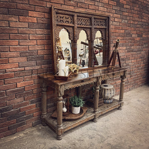 Triple Mehrab Mirror frame   lucky-furniture-handicrafts