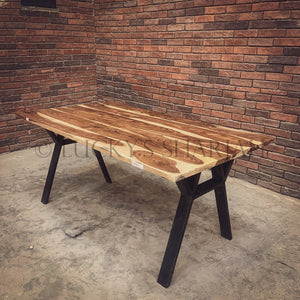 Rosewood Dining table Y Legs   lucky-furniture-handicrafts