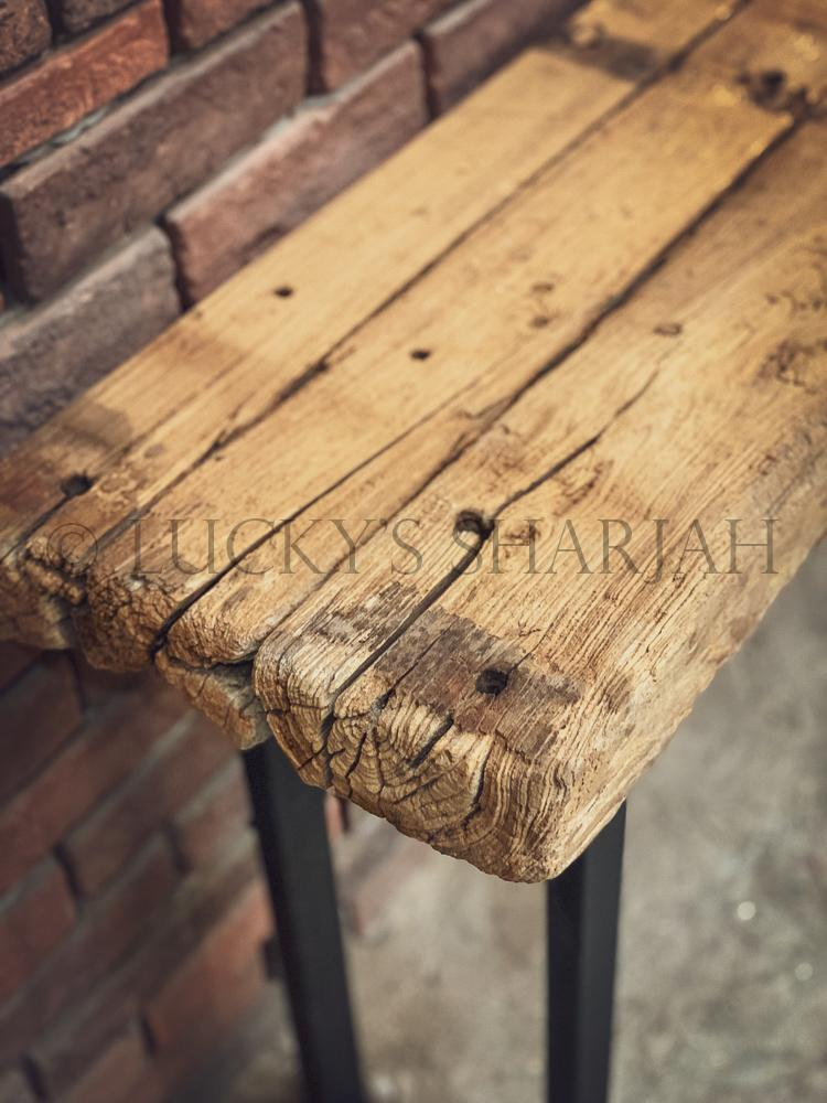 Aged Teak wood Console   lucky-furniture-handicrafts.