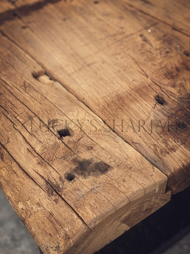 Aged Teak wood Coffee table   lucky-furniture-handicrafts.