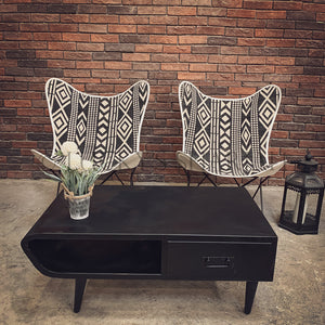 Iron Coffee table with 1 draw   lucky-furniture-handicrafts.