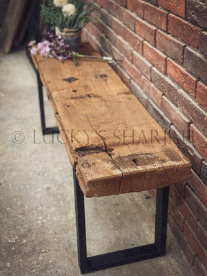 Vintage Teak wood bench   lucky-furniture-handicrafts.