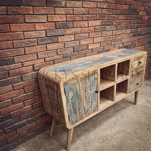 Recycle design tv stand Mid century Design   lucky-furniture-handicrafts.
