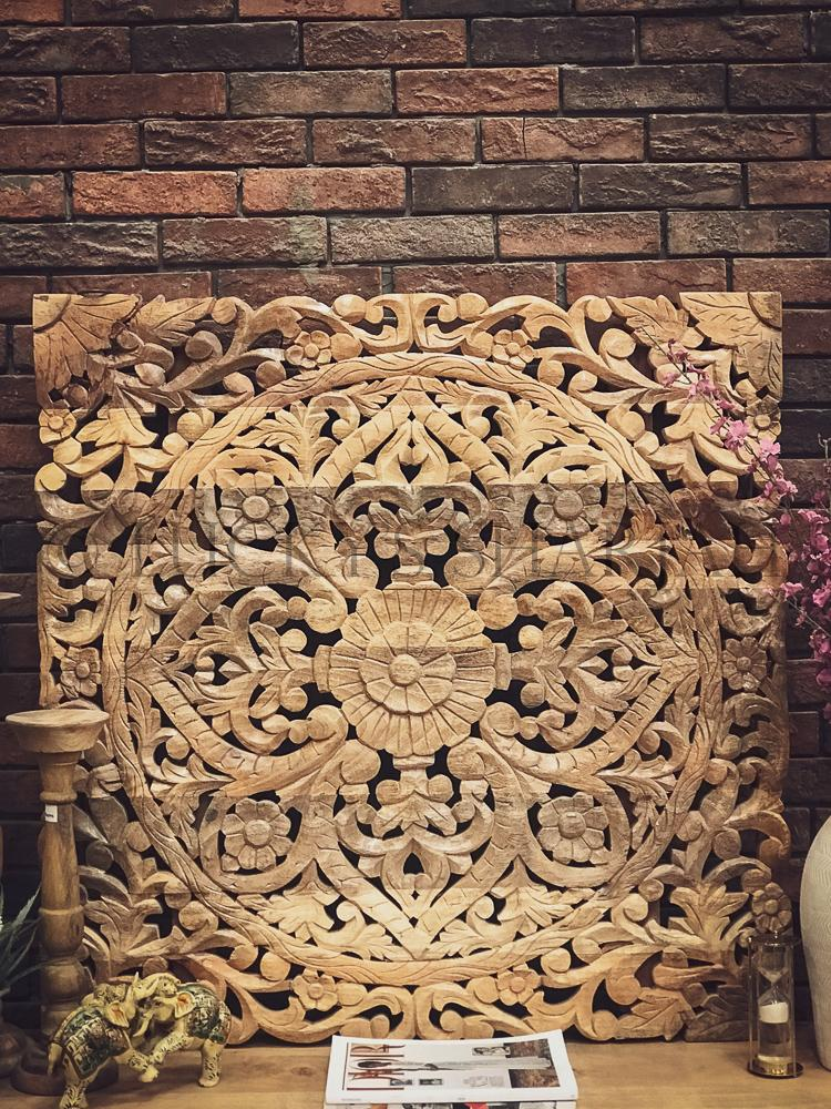 Carved Mehrab design Console   lucky-furniture-handicrafts.