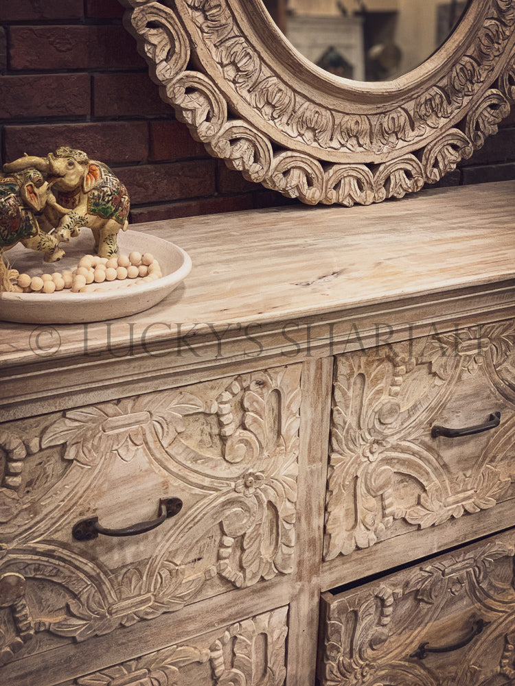 Imperial Carved Drawchest   lucky-furniture-handicrafts