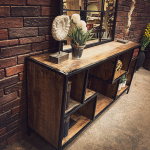 Staggered Design Console   lucky-furniture-handicrafts