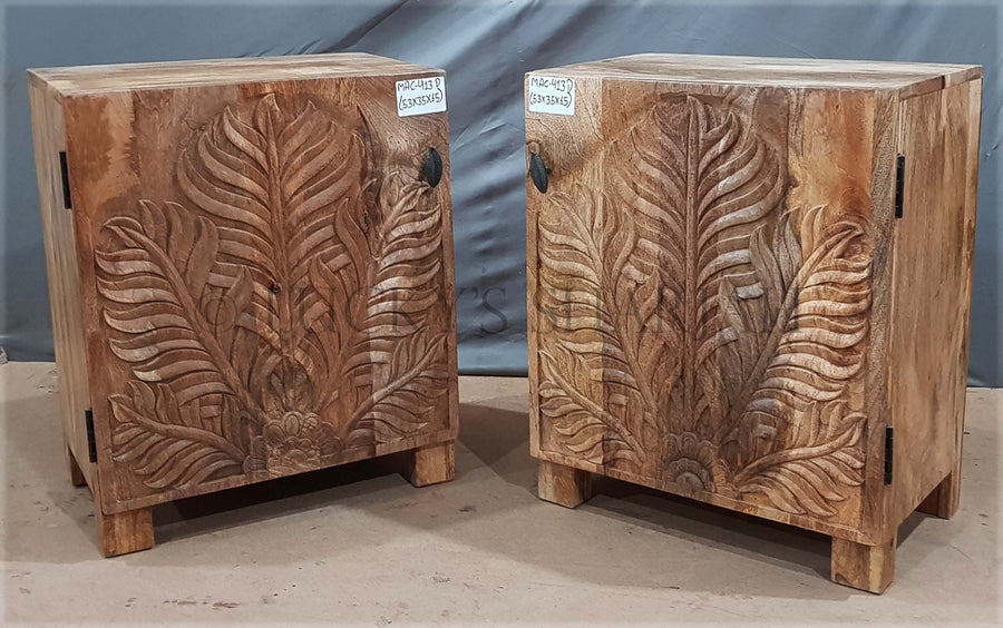 Palm Leaf Bed Side   lucky-furniture-handicrafts.