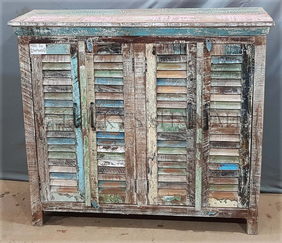 Shutter Design Sideboard   lucky-furniture-handicrafts.