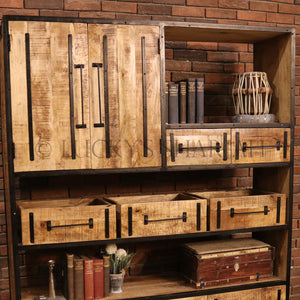 Industrial organization Bookshelf IW   lucky-furniture-handicrafts.