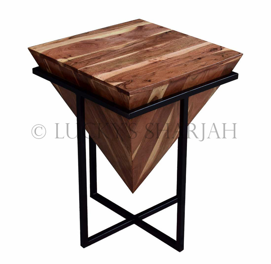 Pyramid Side Table   lucky-furniture-handicrafts.