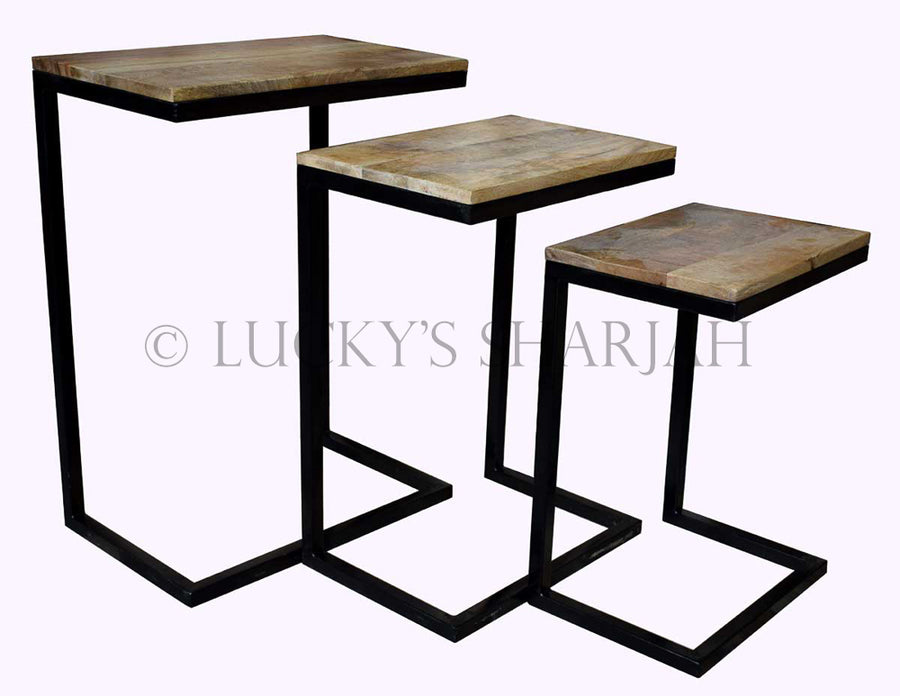 IW nesting table   lucky-furniture-handicrafts
