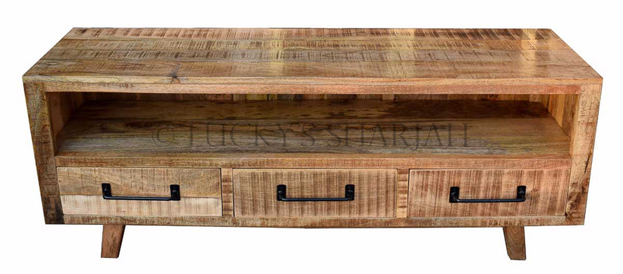 Wooden 3 draw Tv stand   lucky-furniture-handicrafts