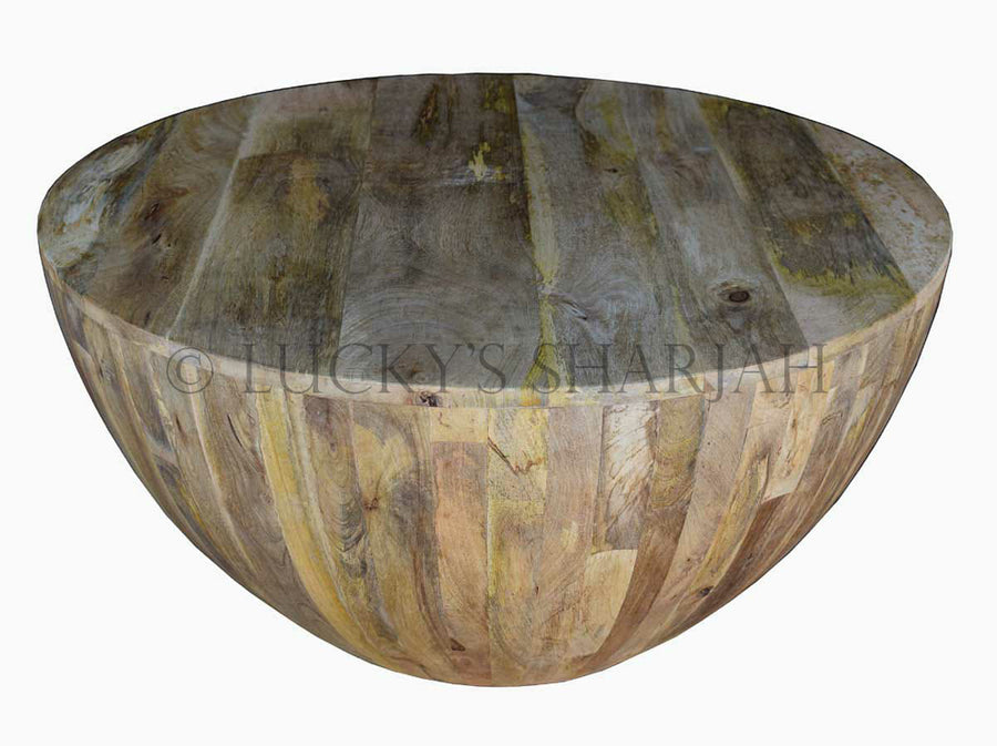 Wooden Round Coffee table   lucky-furniture-handicrafts.