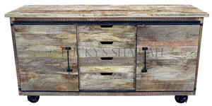 Barn Door Sideboard  simple lucky-furniture-handicrafts.