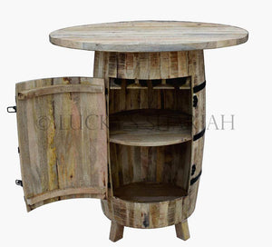 Barrel Bar Counter  simple lucky-furniture-handicrafts