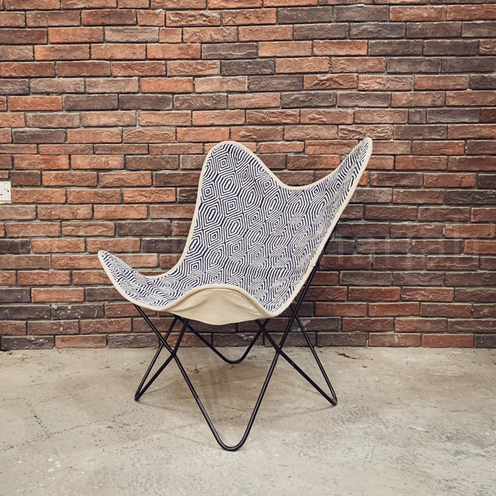 Fabric Butterfly Chair  simple lucky-furniture-handicrafts.