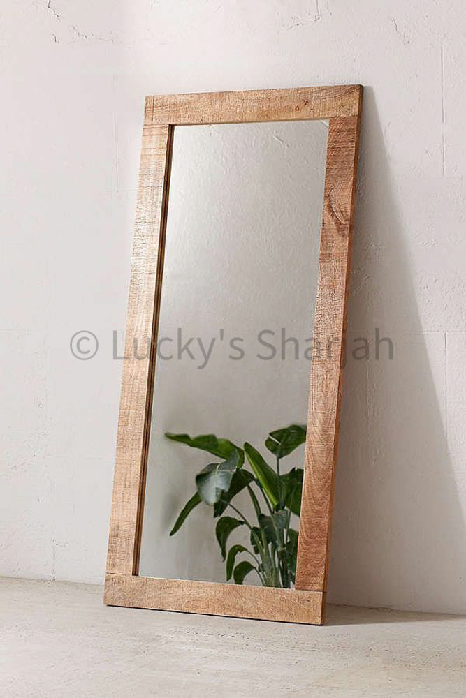 Mango wood mirror frame   lucky-furniture-handicrafts.