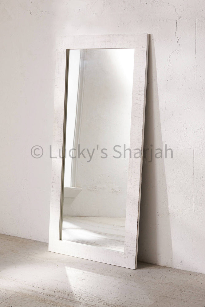 Whitewash mirror frame   lucky-furniture-handicrafts.