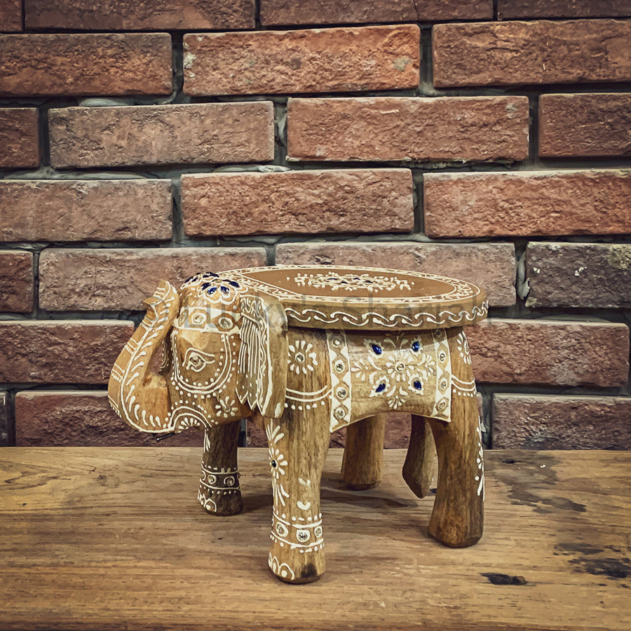 Elephant decor table   lucky-furniture-handicrafts.