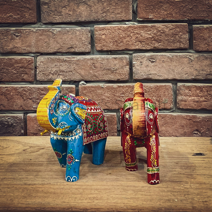 Handpainted Elephant   lucky-furniture-handicrafts.