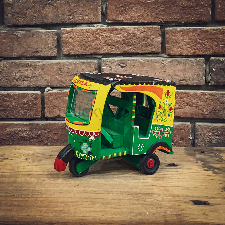 Handpainted Rickshaw Decor   lucky-furniture-handicrafts.