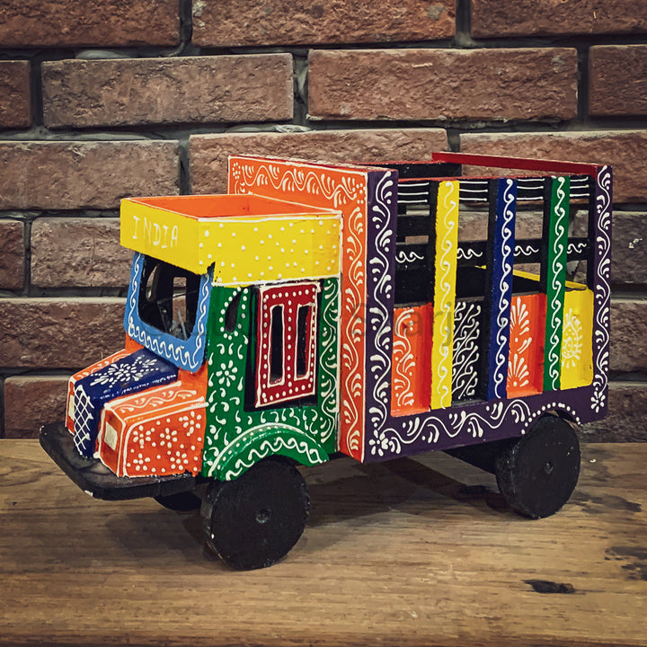 Indian Tempo Truck Decor   lucky-furniture-handicrafts.