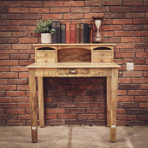 High Back Classic desk with 5 draw   lucky-furniture-handicrafts.