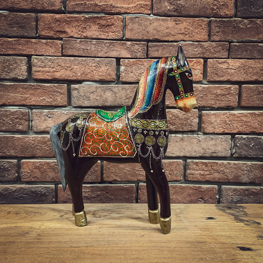 Handpainted horse