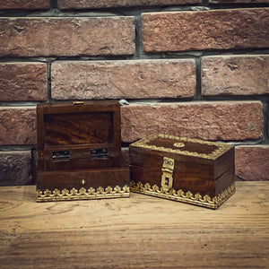 Brass inlay accessory box   lucky-furniture-handicrafts.