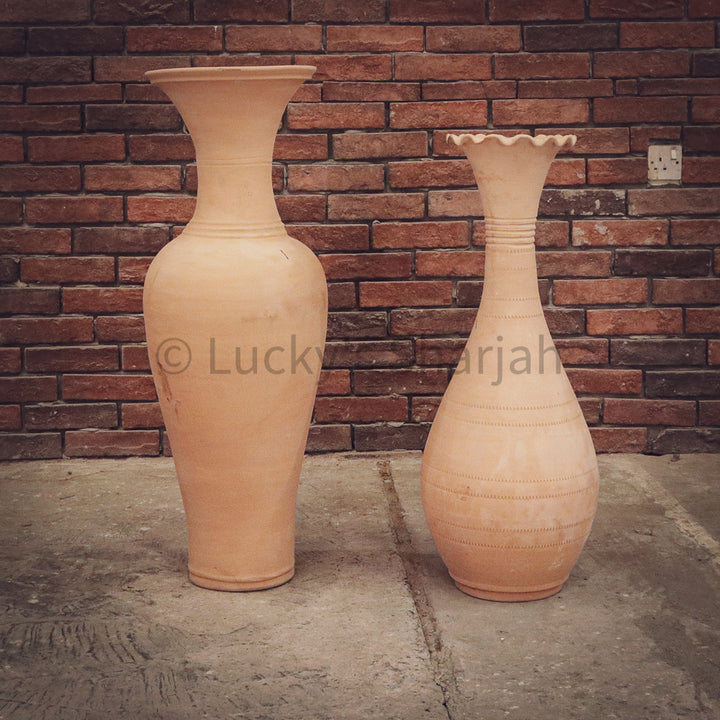 Exo Collection Earthen Pots   lucky-furniture-handicrafts.