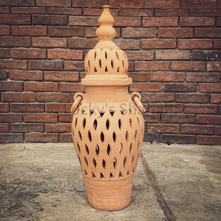 Traditional Terra Collection Earthen Pots   lucky-furniture-handicrafts.