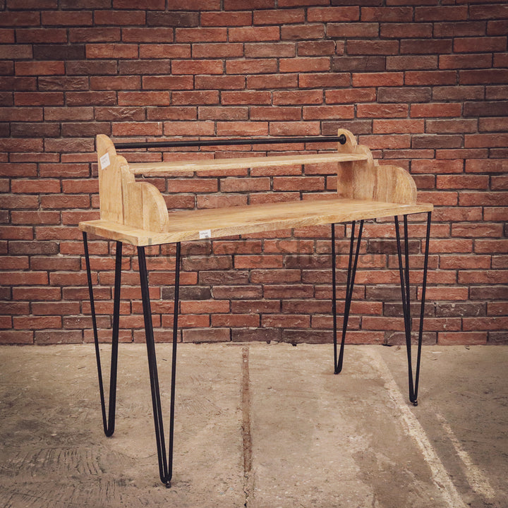 Minimalist Desk 2 tier   lucky-furniture-handicrafts.