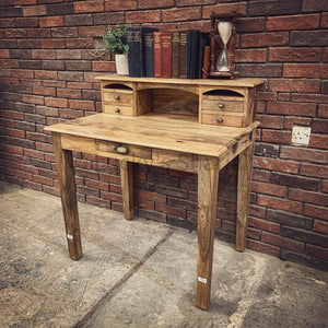 High Back Classic desk with 5 draw