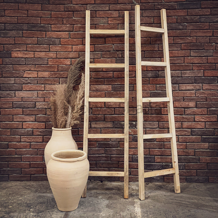 Simple decor wooden Ladder   lucky-furniture-handicrafts.