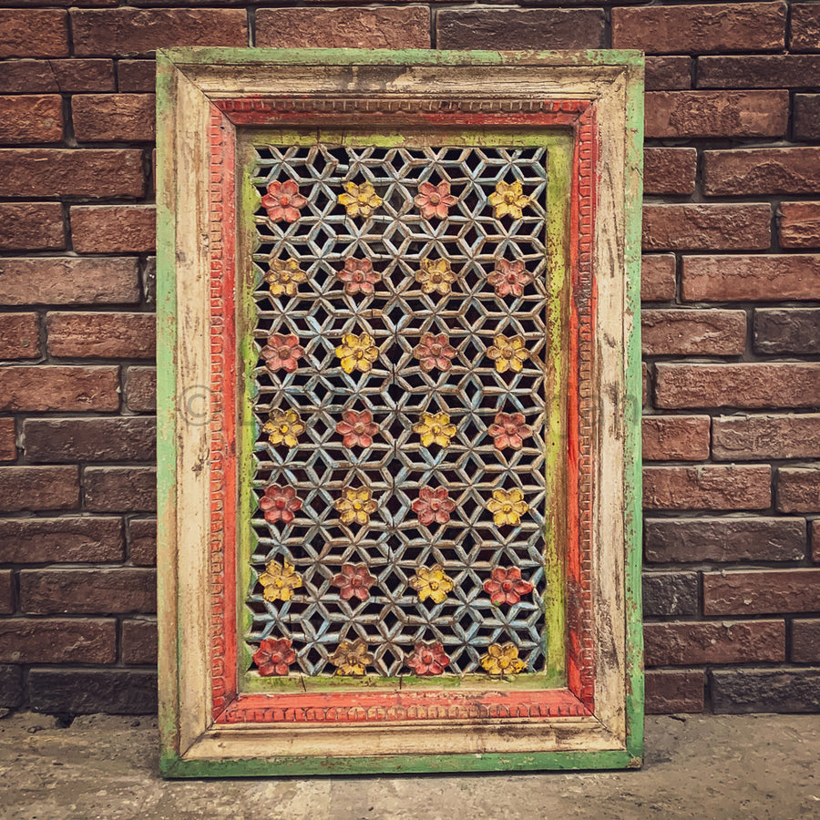 Carved Multi color wall panel