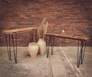 Minimalist Teak Console   lucky-furniture-handicrafts.