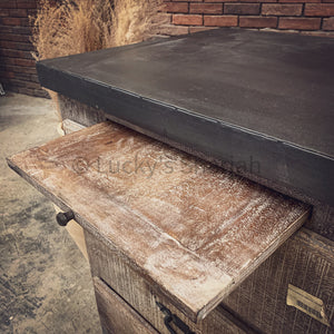 Industrial Classic Drawchest with pull out tray