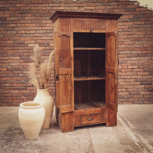 "Vintage Teak Cabinet with ""hidden"" storage"