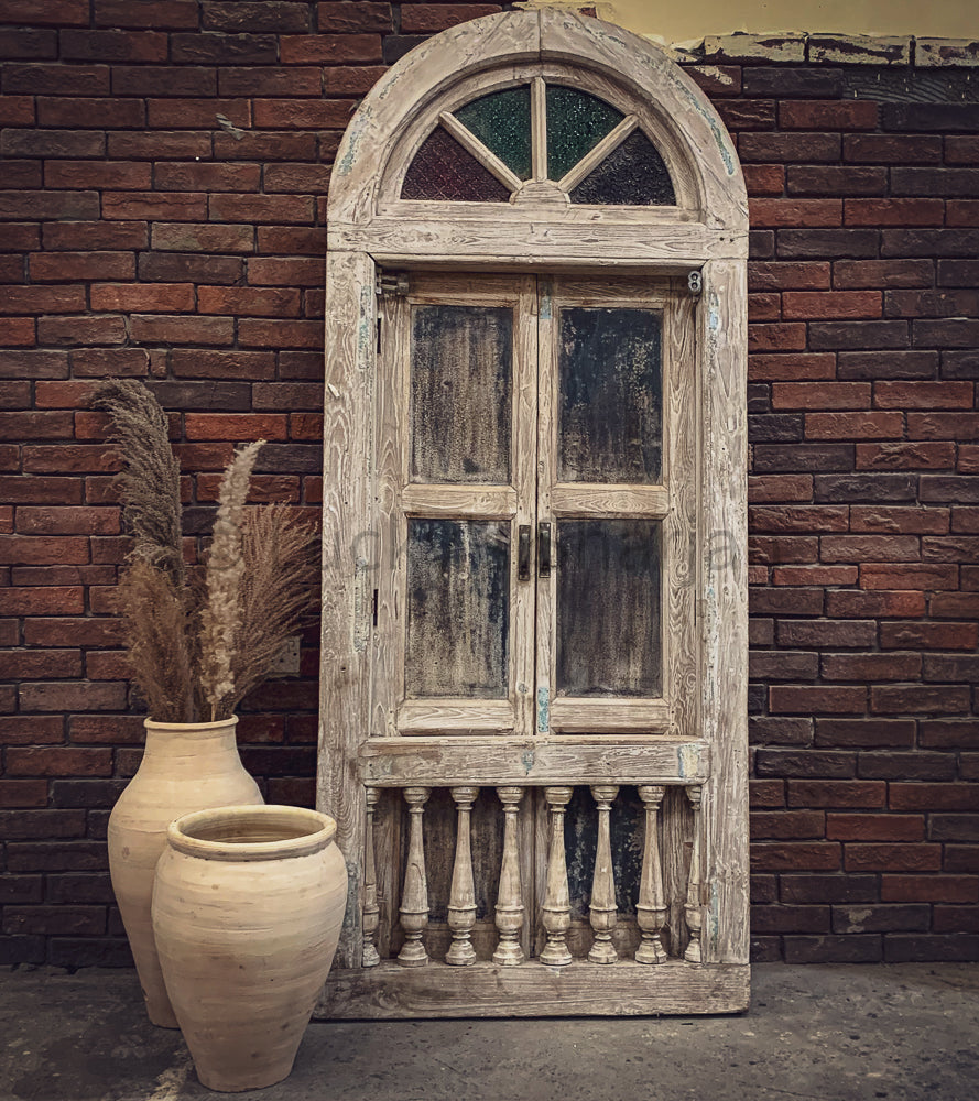 Vintage Balcony Door   lucky-furniture-handicrafts.