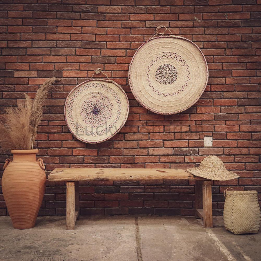 Boho multicolor wall decor plates   lucky-furniture-handicrafts.