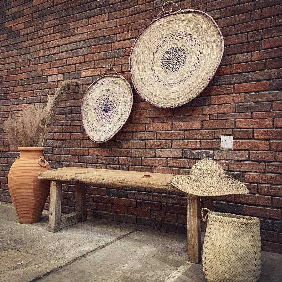 Rustic Teak Bench   lucky-furniture-handicrafts.