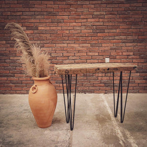 Aged Teak Minimalist console   lucky-furniture-handicrafts