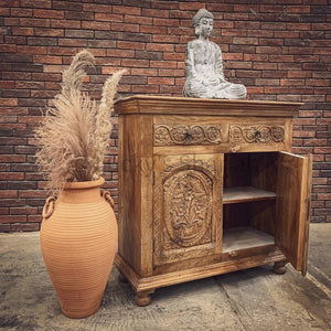 2 Draw Carved Sideboard   lucky-furniture-handicrafts