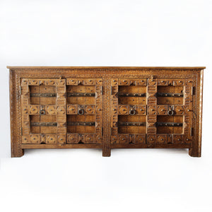 Gujrati 4 Door Sideboard  simple lucky-furniture-handicrafts