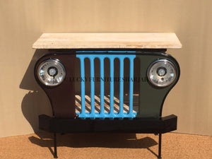 Jeep Console  simple lucky-furniture-handicrafts.